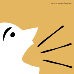 laut - Adjektive - Bilder - Wortschatz mit Bildern - Wortschatzbilder