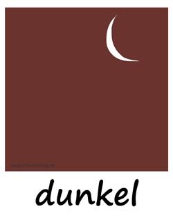 dunkel - nacht - Adjektive - Bilder - Wortschatz mit Bildern - Wortschatzbilder
