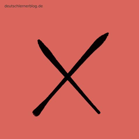 falsch - Adjektive - Bilder - Wortschatz mit Bildern - Wortschatzbilder
