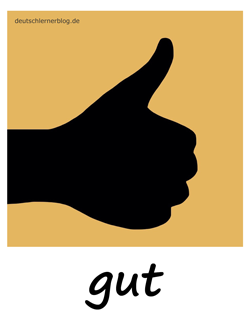 gut - Adjektive - Bilder - Wortschatz mit Bildern - Wortschatzbilder
