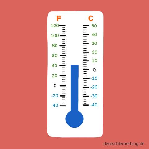 kühl - Adjektive - Bilder - Wortschatz mit Bildern - Wortschatzbilder