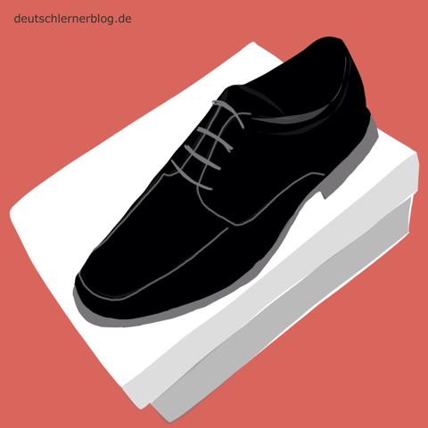 neu - Schuh - Adjektive - Bilder - Wortschatz mit Bildern - Wortschatzbilder