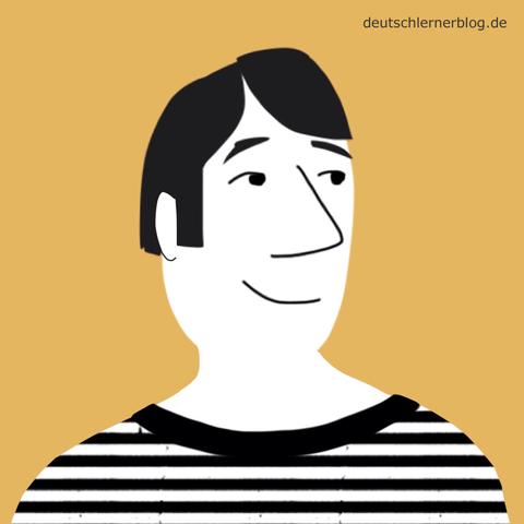 hübsch - schön - schöner Mann - Adjektive - Bilder - Wortschatz mit Bildern - Wortschatzbilder
