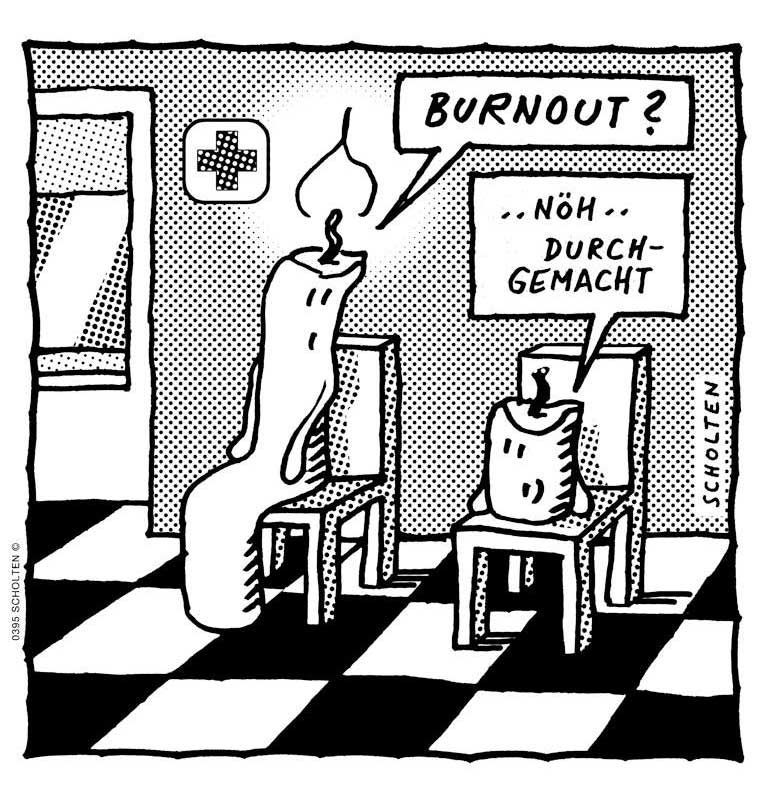 die Nacht durchmachen - Nacht durchgemacht - Deutsch lernen mit Cartoons - Deutsch mit Cartoons