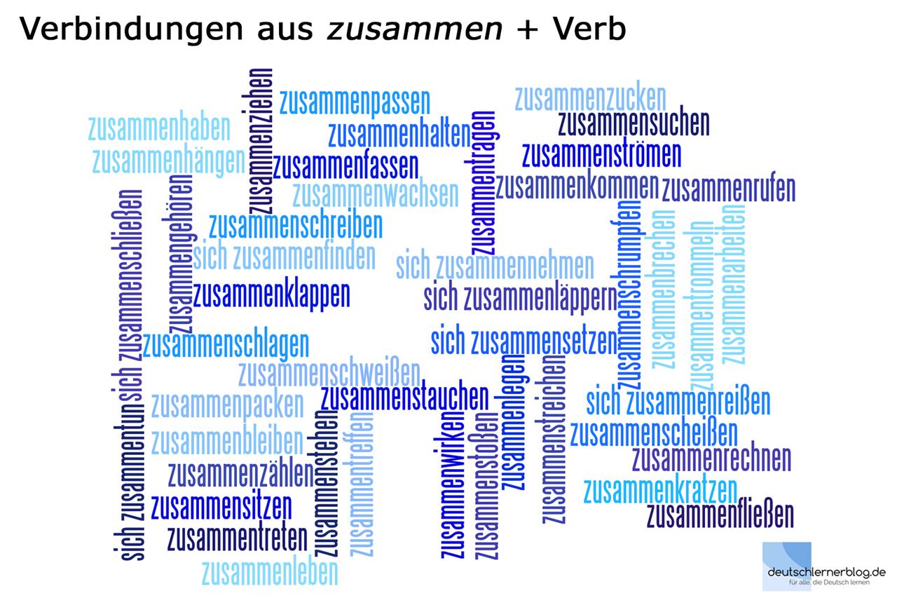 Verbindungen_zusammen_Verb_deutschlernerblog