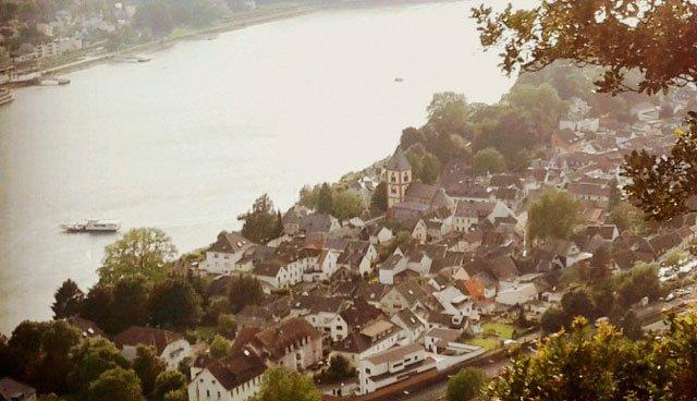 Wohnort - Wortschatz Stadt - Deutsch lernen A1 - Thema - Erpel