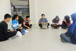 Eine informelle Besprechung