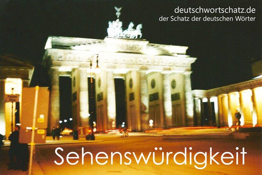 Sehenswürdigkeit - Brandenburger Tor