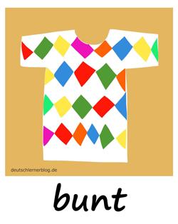 bunt - buntes Hemd