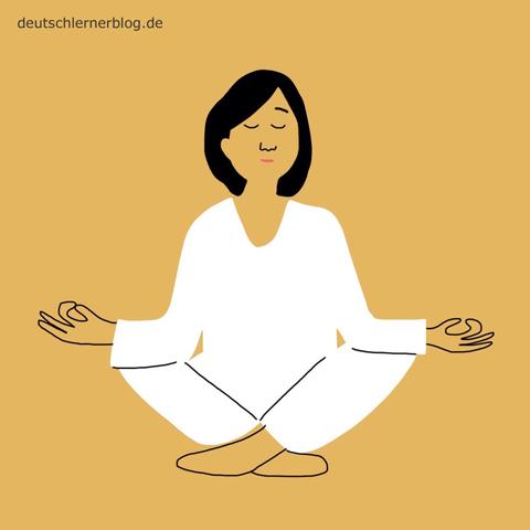 ruhig - Entspannung - entspannt - Ruhe - Yoga