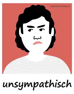 unsympathisch
