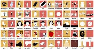 Adjektive Spiel - Adjektive - die wichtigsten deutschen Adjektive - Deutsch lernen