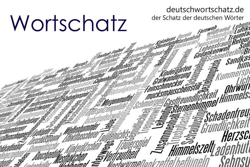 Wortschatz Deutsch - german words