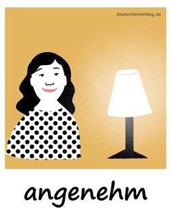 angenehm - Adjektive Bilder
