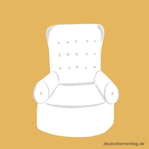 bequem - Sessel - Wohnzimmersessel
