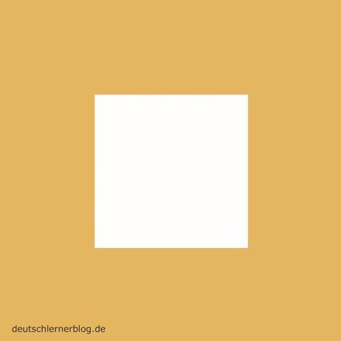 eckig - Formen - Quadrad