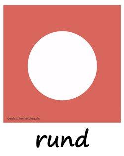 rund - Kreis