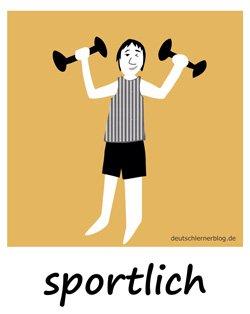 sportlich