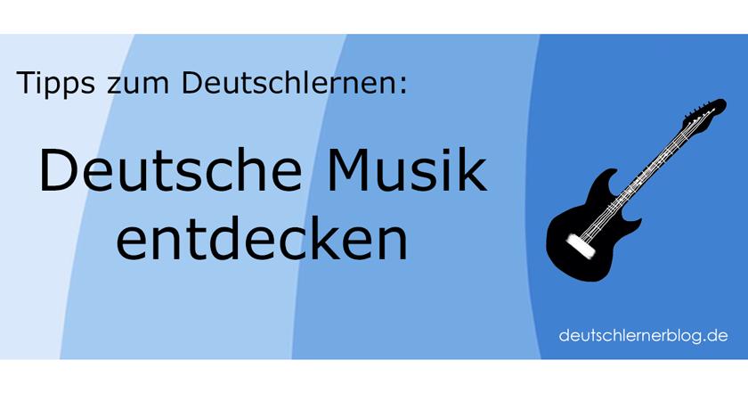 deutsche Musik - deutschsprachige Musik - deutsche Lieder - deutsche Bands - deutsche Sänger - deutsche Sängerinnen