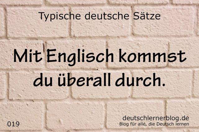 typische deutsche Sätze - wichtige deutsche Sätze - typische Sätze Deutsch -Sätze auf Deutsch - wichtige Sätze Deutsch - Deutsch lernen