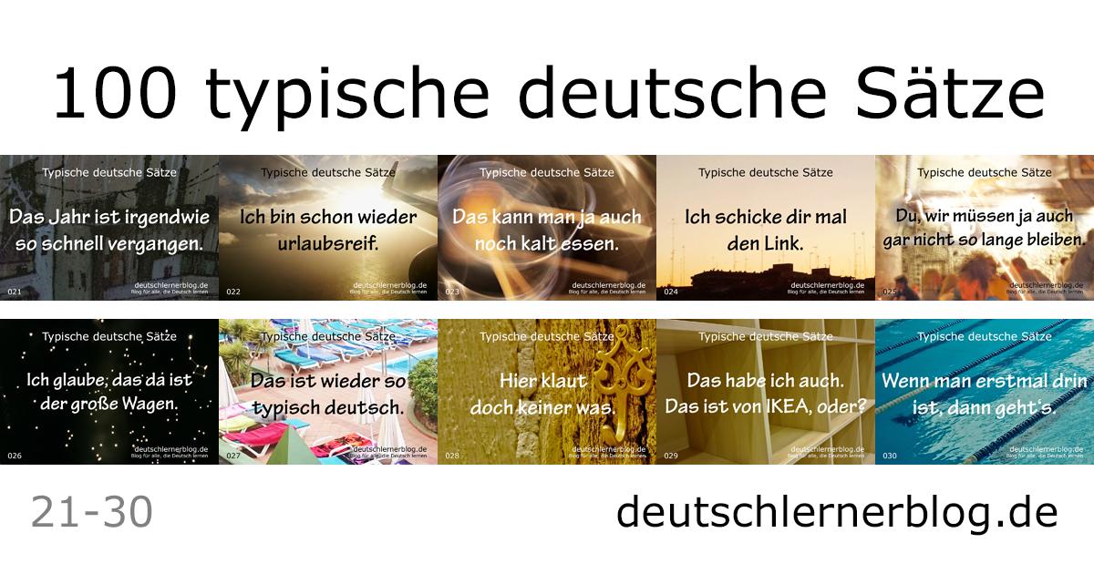 wichtige Sätze Deutsch - typische deutsche Sätze - wichtige deutsche Sätze - typische Sätze Deutsch - Deutsch lernen