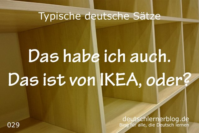 wichtige Sätze auf Deutsch - typische deutsche Sätze - wichtige deutsche Sätze - typische Sätze Deutsch - Deutsch lernen