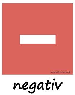 negativ - Adjektive - Bilder - Wortschatz Bilder - Wortschatzbilder - Bilderlexikon - Vokabeln mit Bildern