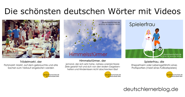 Trödelmarkt - Himmelsstürmer - Spielerfau - - schöne deutsche Wörter