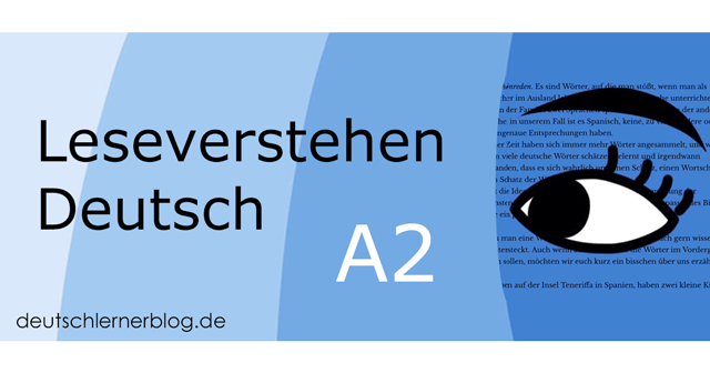 Leseverstehen Deutsch A2 - Leseverstehen A2 - Leseverständnis A2 - Deutsch lesen A2