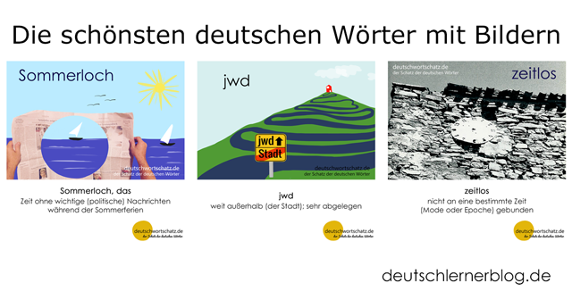 Gute Wörter - Schöne deutsche Wörter