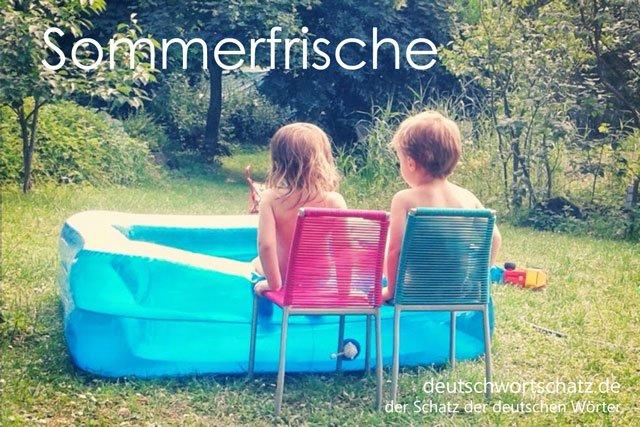 Sommerfrische - Foto Sommerfrische
