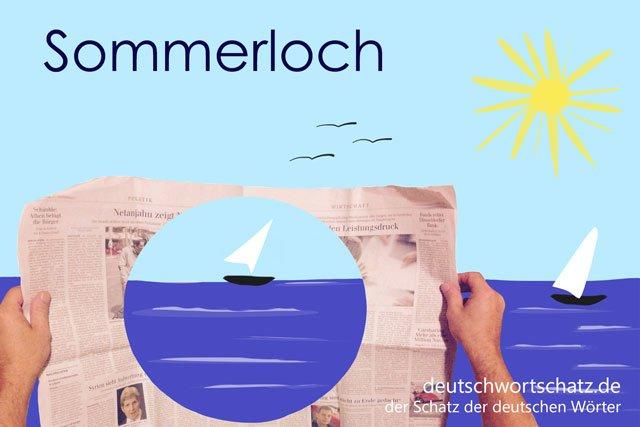Sommerloch - gute Wörter