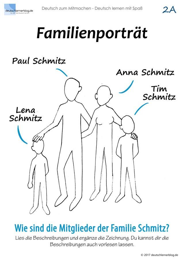 Familienporträt - Familienmodelle - Mitmachbuch