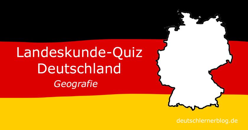 Landeskunde Deutschland Quiz