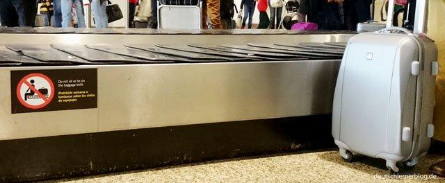 Gepäckband - Urlaub und Reisen