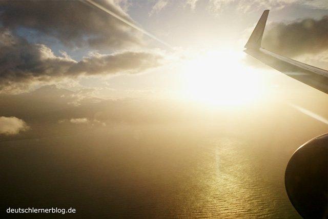 Flugzeug - Flugreise