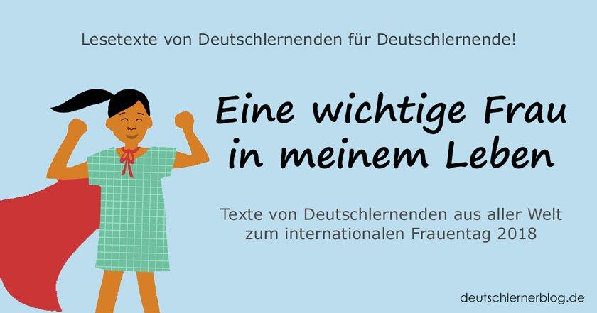 wichtige Frauen - bedeutende Frauen - internationaler Frauentag - Weltfrauentag - eine wichtige Frau in meinem Leben