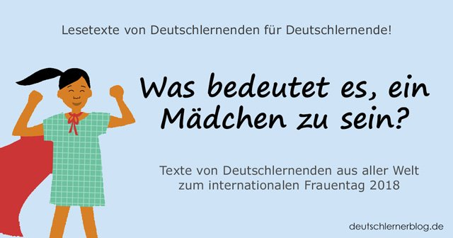 Weltfrauentag - internationaler Frauentag - Weltfrauentag - eine wichtige Frau in meinem Leben