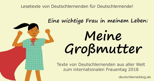 meine Großmutter - meine Grossmutter - internationaler Frauentag - Weltfrauentag - eine wichtige Frau in meinem Leben