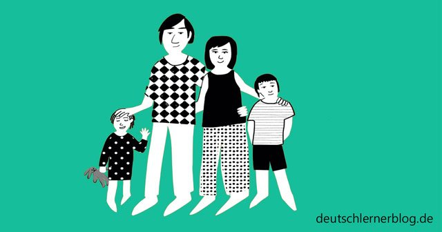 bilinguale Erziehung - Familie - Kinder
