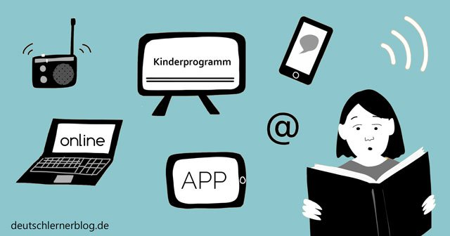 zweisprachige Erziehung - zweisprachig erziehen - bilinguale Erziehung - Zweisprachigkeit - Medien auf Deutsch