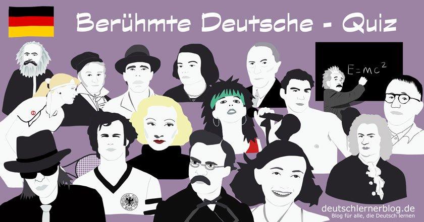 berühmte Deutsche - große Deutsche - bekannte Deutsche - prominente Deutsche