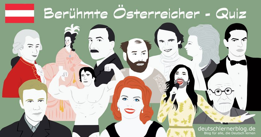 berühmte Österreicher - bekannte Österreicher - beliebte Österreicher - große Österreicher