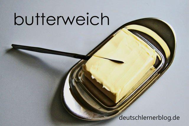 butterweich - zusammengesetzte Adjektive