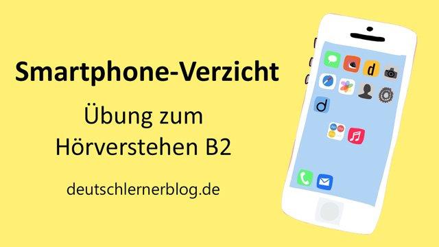 ohne Smartphone - ohne Handy - Verzicht - Askese