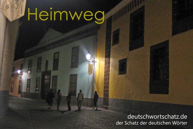 Heimweg - Nachhauseweg