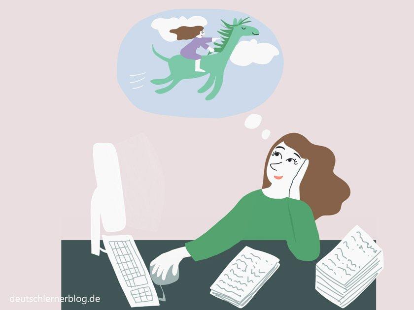 Tagträume - MDD - maladaptive daydreaming disorder