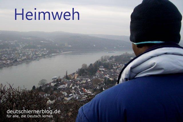 Heimweh - deutsche Krankheiten und Leiden
