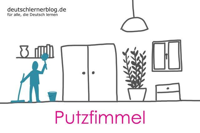 Putzfimmel - deutsche Krankheiten und Leiden