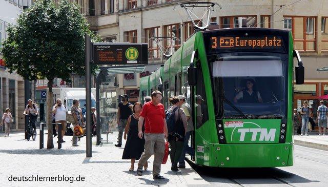 Verkehr - Verkehrsmittel - Straßenbahn